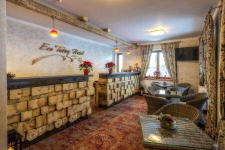 Hotel na granicy Zakopanego i Kościeliska - recepcja
