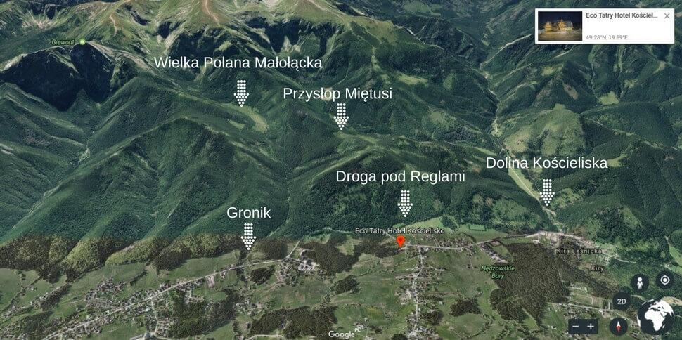 Hotel w górach - Eco Tatry Kościelisko