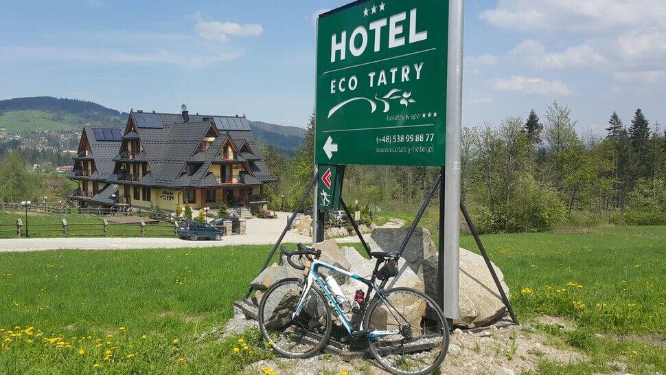 Rower Kościelisko - Hotel Eco Tatry