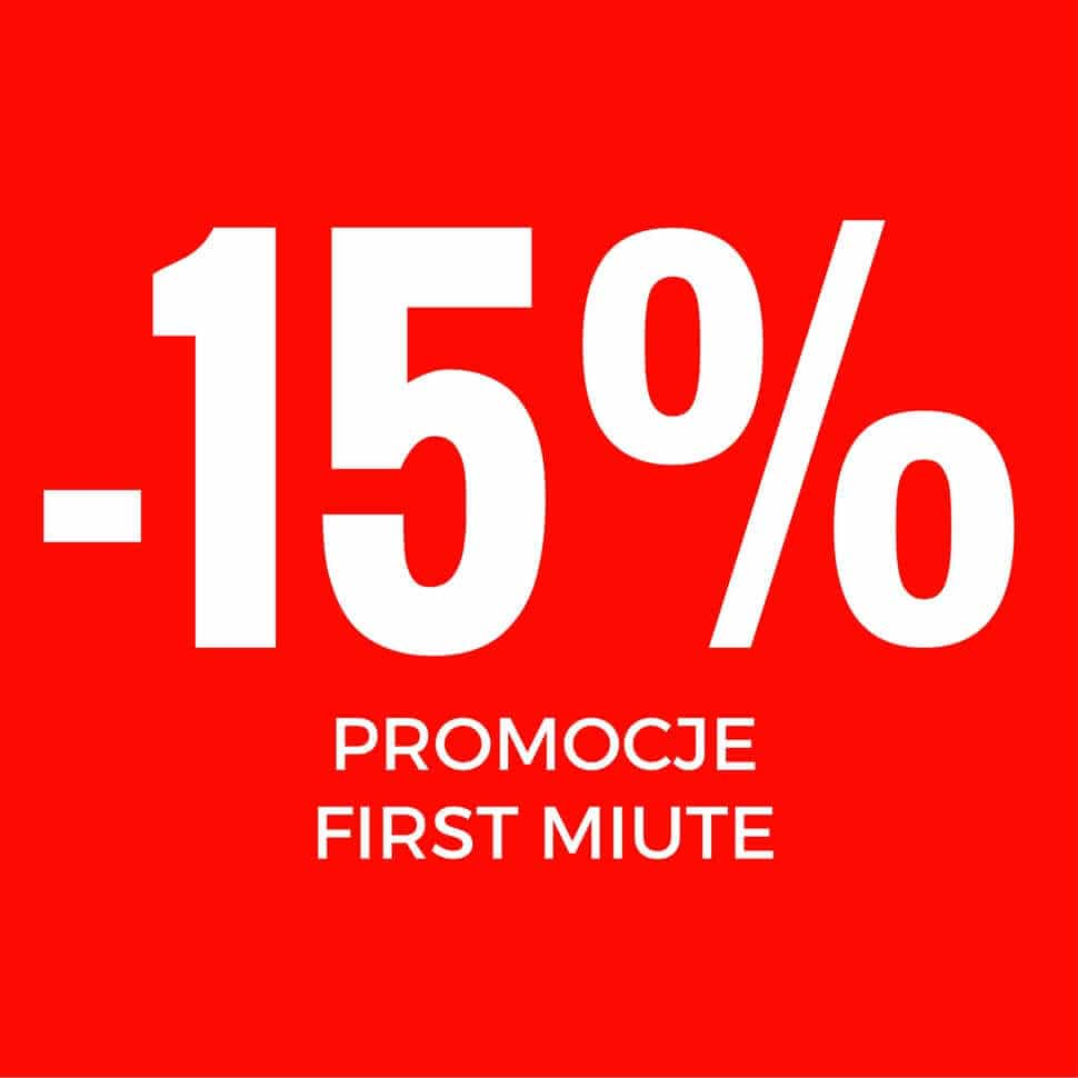 Promocje First Minute